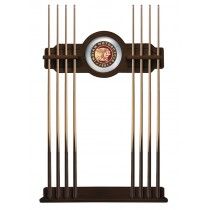 Indian Motorcycle Logo'd Navajo Finish Cue Rack