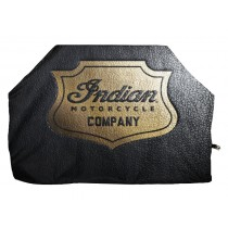 Indian Motorcycle Gold Shield Badge Grill Cover