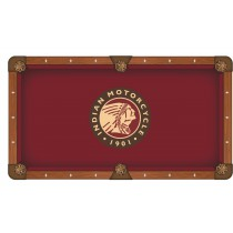 Indian Motorcycle Pool Table Cloth