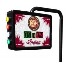 Indian Motorcycle Shuffleboard Scoring Unit