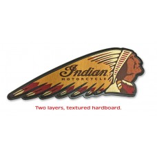 Indian Motorcycle Headdress Patch Sign