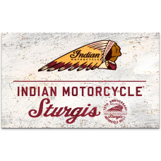 Indian Motorcycle Sturgis South Dakota Wall Decor 79th Anniversary