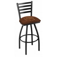 Indian Motorcycle L014 Bar Stool with Brown Leather