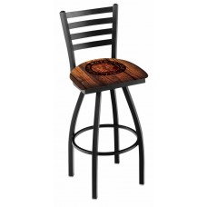 Indian Motorcycle L014 Bar Stool with Barn Wood