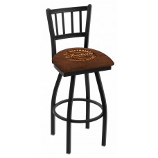 Indian Motorcycle Brown Leather L018 Bar Stool