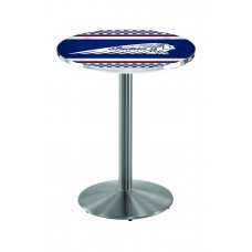 Indian Motorcycle Stainless Steel L214 Pub Table with Cafe Racer 4