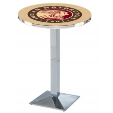Indian Motorcycle Head Logo Chrome L217 Pub Table