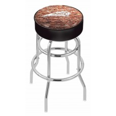 Indian Motorcycle L7C1 Retro Bar Stool with Brick Wall