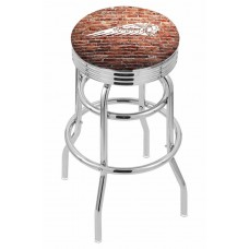 Indian Motorcycle Brick Wall L7C3C Retro Bar Stool