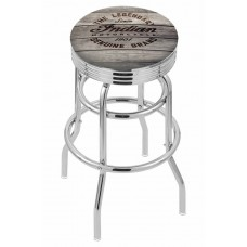 Indian Motorcycle Engraved Wood  L7C3C Retro Bar Stool