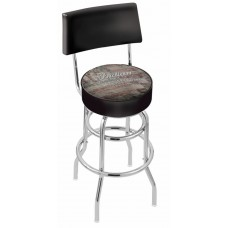 Indian Motorcycle Holland Bar Stool L7C4 with American Flag
