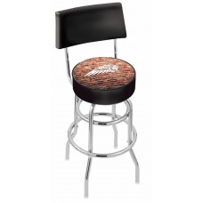 Indian Motorcycle L7C4 Retro Bar Stool with Brick Wall
