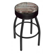 Indian Motorcycle Holland Bar Stool L8B1 with American Flag