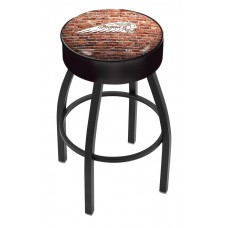 Indian Motorcycle L8B1 Bar Stool with Brick Wall