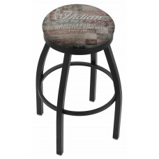 Indian Motorcycle Holland Bar Stool L8B2B with American Flag