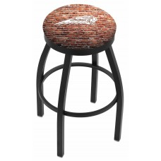 Indian Motorcycle L8B2B Bar Stool with Brick Wall