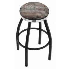Indian Motorcycle Holland Bar Stool L8B2C with American Flag