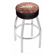 Indian Motorcycle L8C1 Bar Stool with Brick Wall