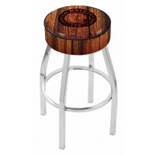 Indian Motorcycle L8C1 Bar Stool with Barn Wood