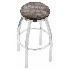 Indian Motorcycle L8C2C Bar Stool with American Flag