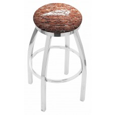 Indian Motorcycle L8C2C Bar Stool with Brick Wall