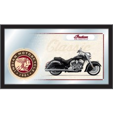 Indian Motorcycle Collector Mirror Classic Black Bike