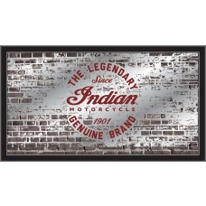 Indian Motorcycle Collectors Mirror Legendary Brick Wall