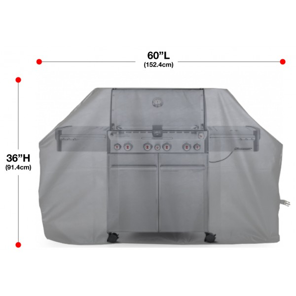 """Indian Motorcycle Grill Cover 60"""" Size Chart"""