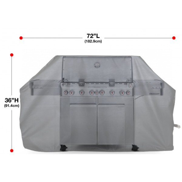"""Indian Motorcycle Grill Cover 72"""" Size Chart"""