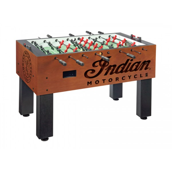 Indian Motorcycle Foosball Table with Chardonnay Finish