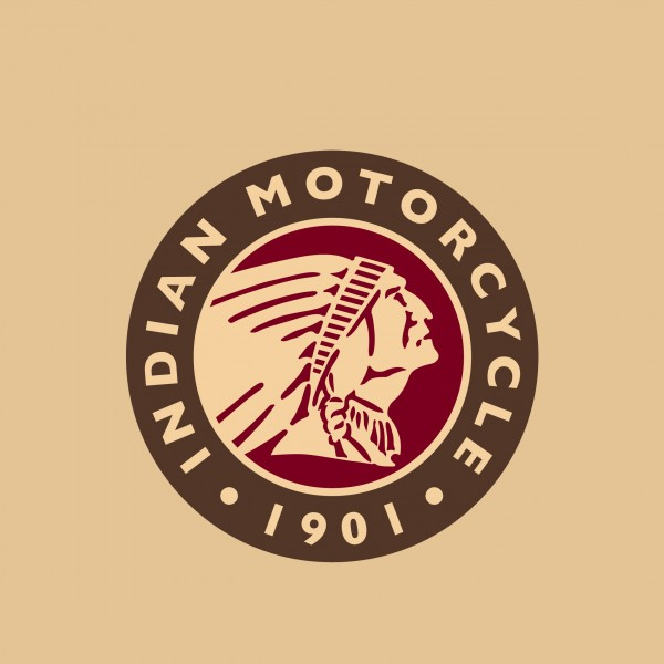Indian Motorcycle Head Logo Stool Flat