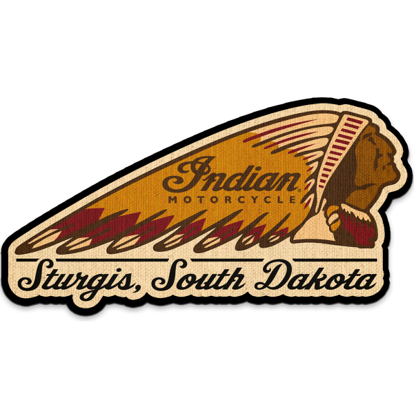 Indian Motorcycle Sturgis South Dakota Wall Decor