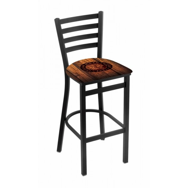 Indian Motorcycle Distressed Barn Wood Holland Bar Stool L004