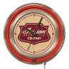 Indian Motorcycle Shield Logo 15 Neon Clock
