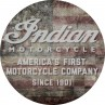 Indian Motorcycle American Flag Table Top