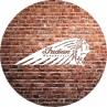 Indian Motorcycle Brick Wall Table Top
